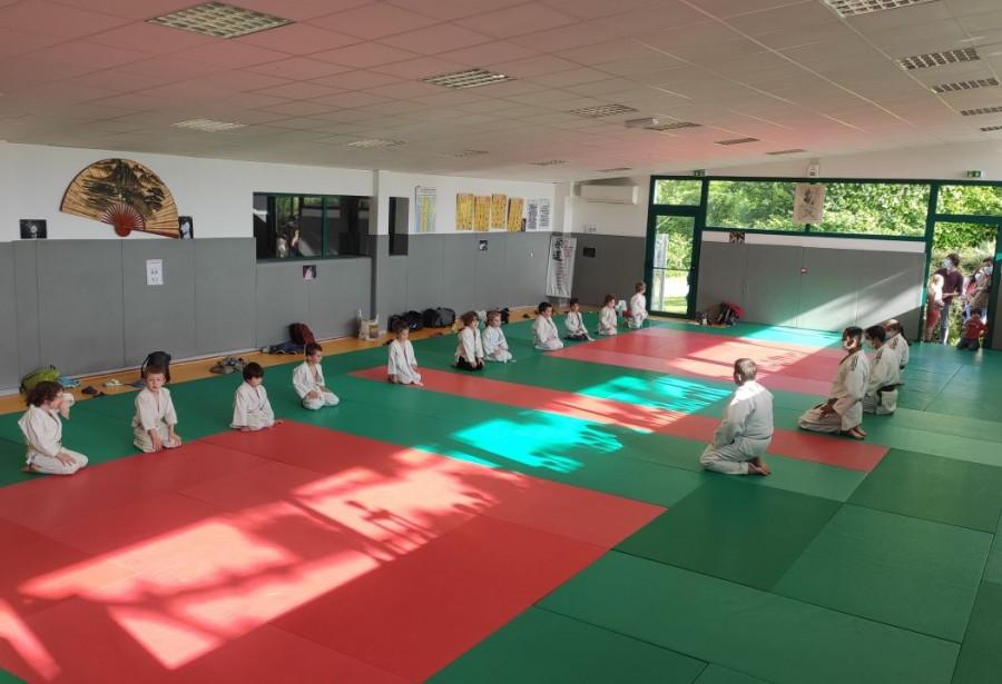 Retour des pré-judos ;-)