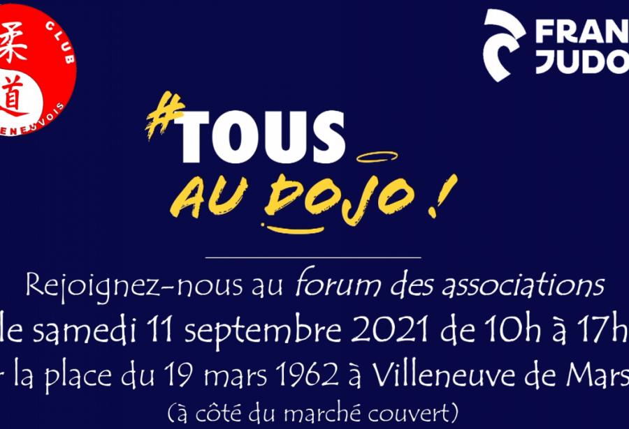 Samedi 11 septembre : rdv pour le forum des associations
