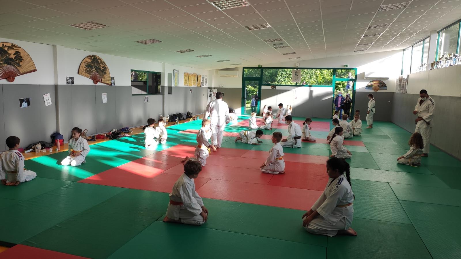 JCV : retour des pré-judos