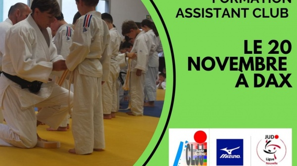 Formation ASSISTANT CLUB 20/11/2021